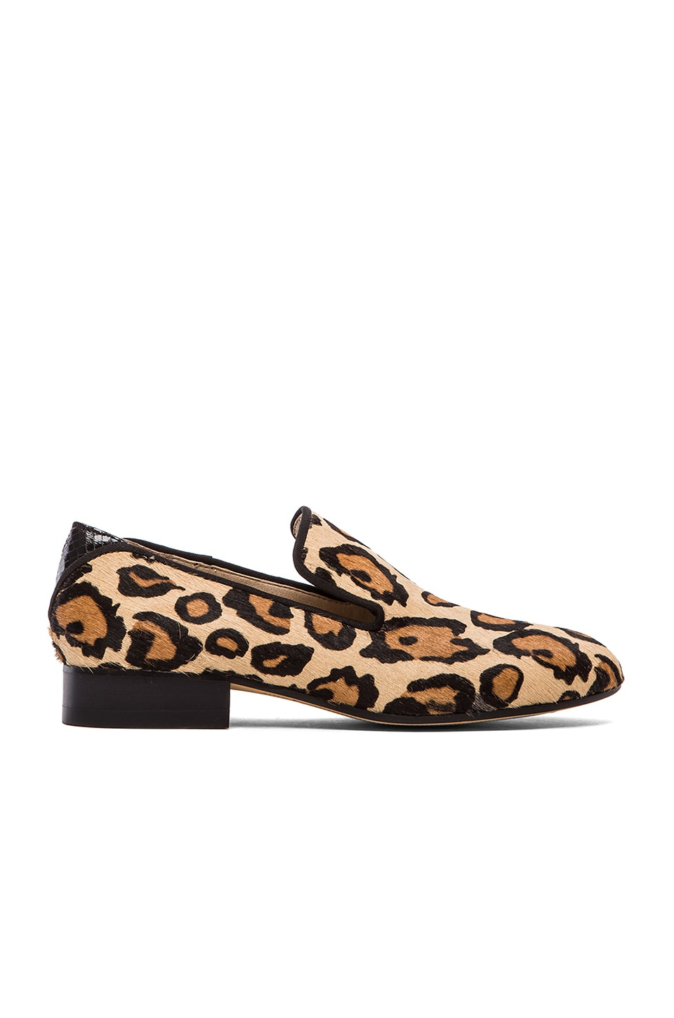 Sam Edelman Kalinda Loafer in New Nude Leopard Haircalf