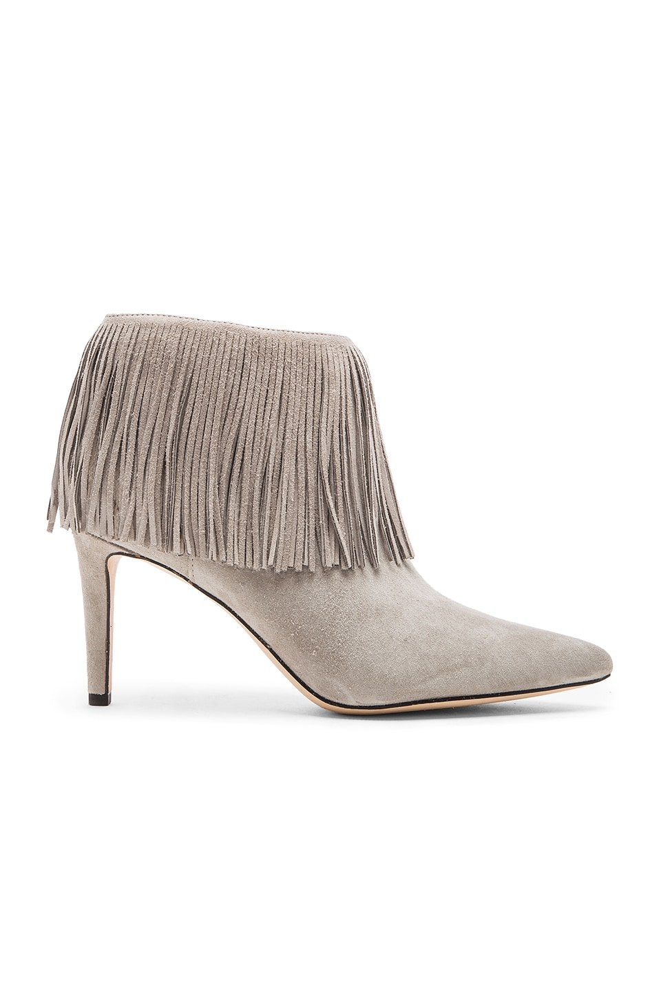 Sam Edelman Kandice Bootie in Grey Suede
