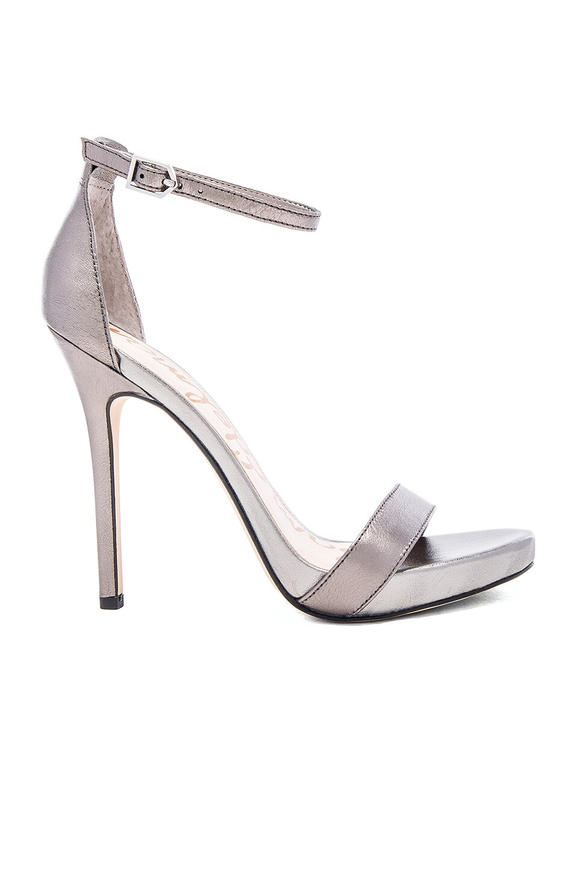 Sam Edelman Eleanor Heel in Silver