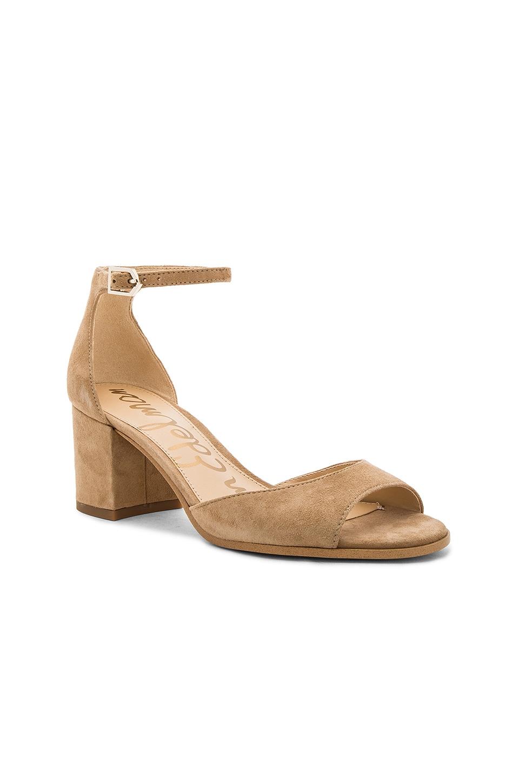 SAM EDELMAN Susie Ankle Strap Block Heel Sandals