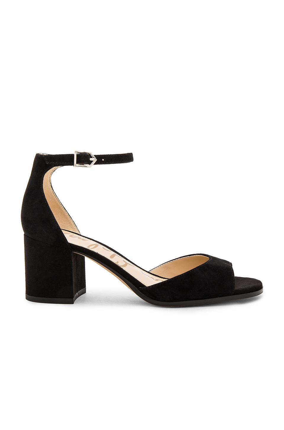 Sam Edelman Susie Heel in Black