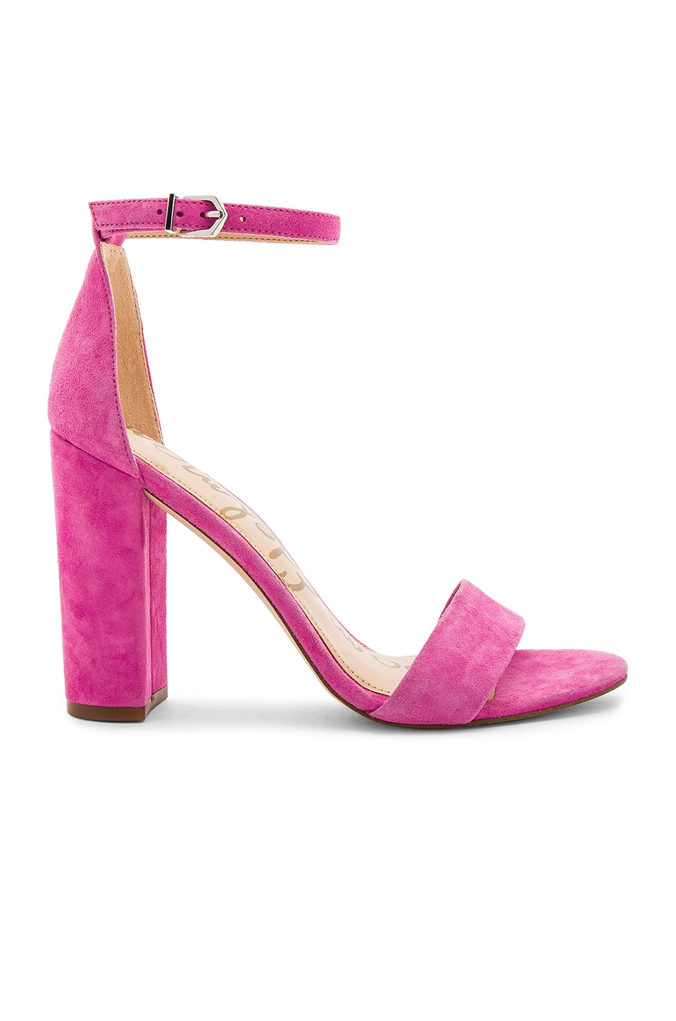 02a6393254d0 Sam Edelman Yaro Heel in Hot Pink