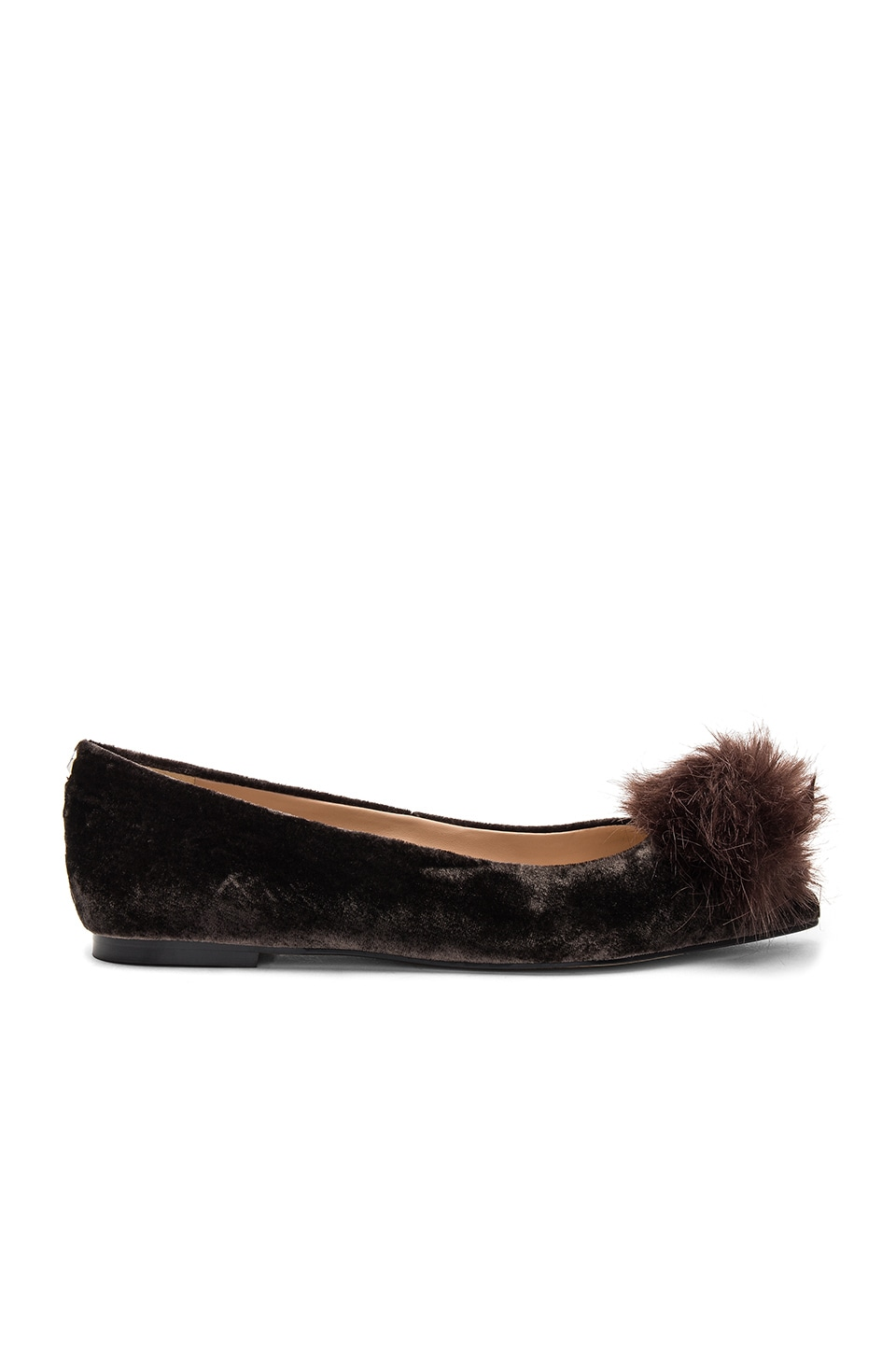Raddie Faux Fur Flat by Sam Edelman