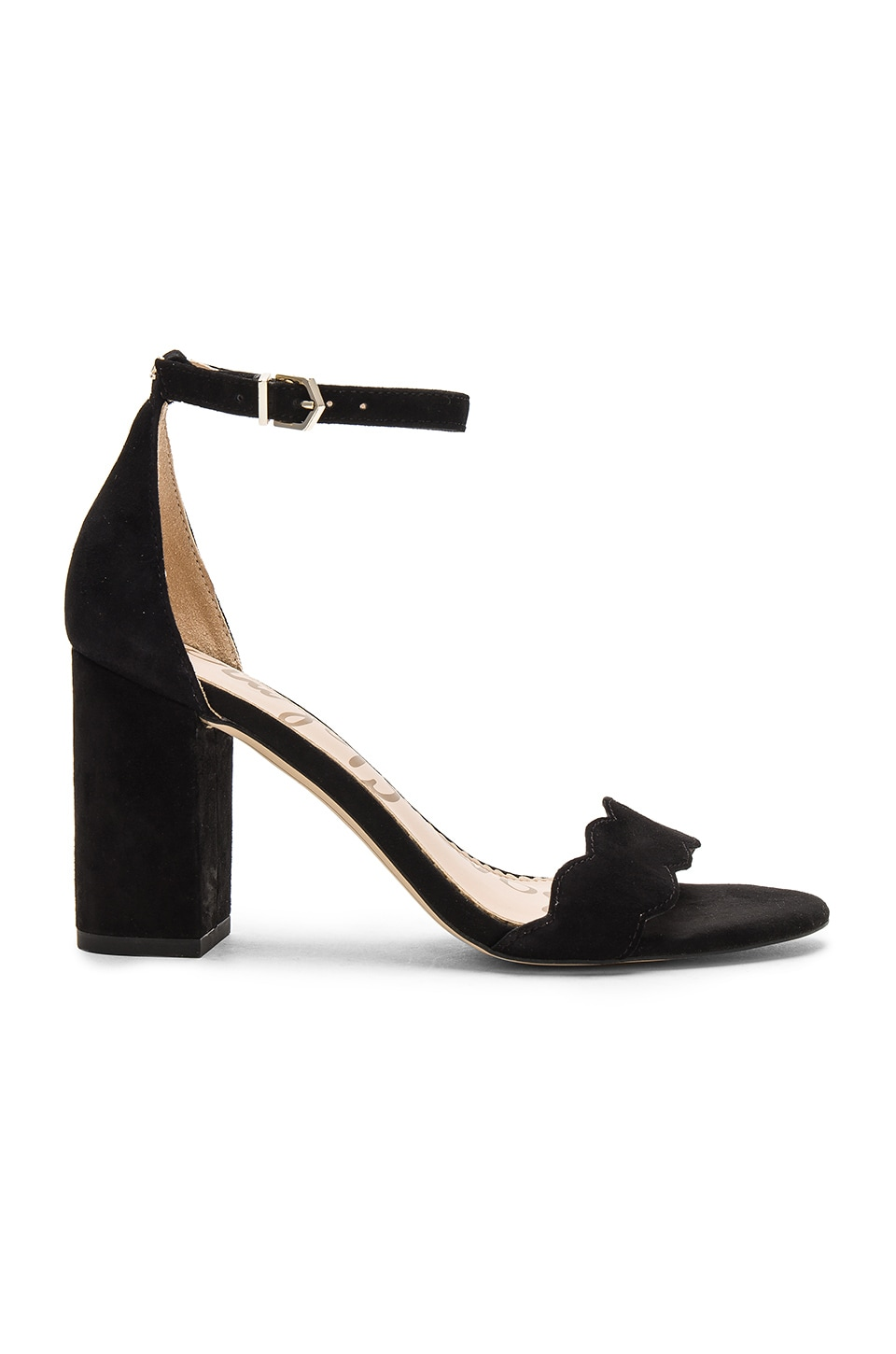 Sam Edelman Odila Heel in Black Suede
