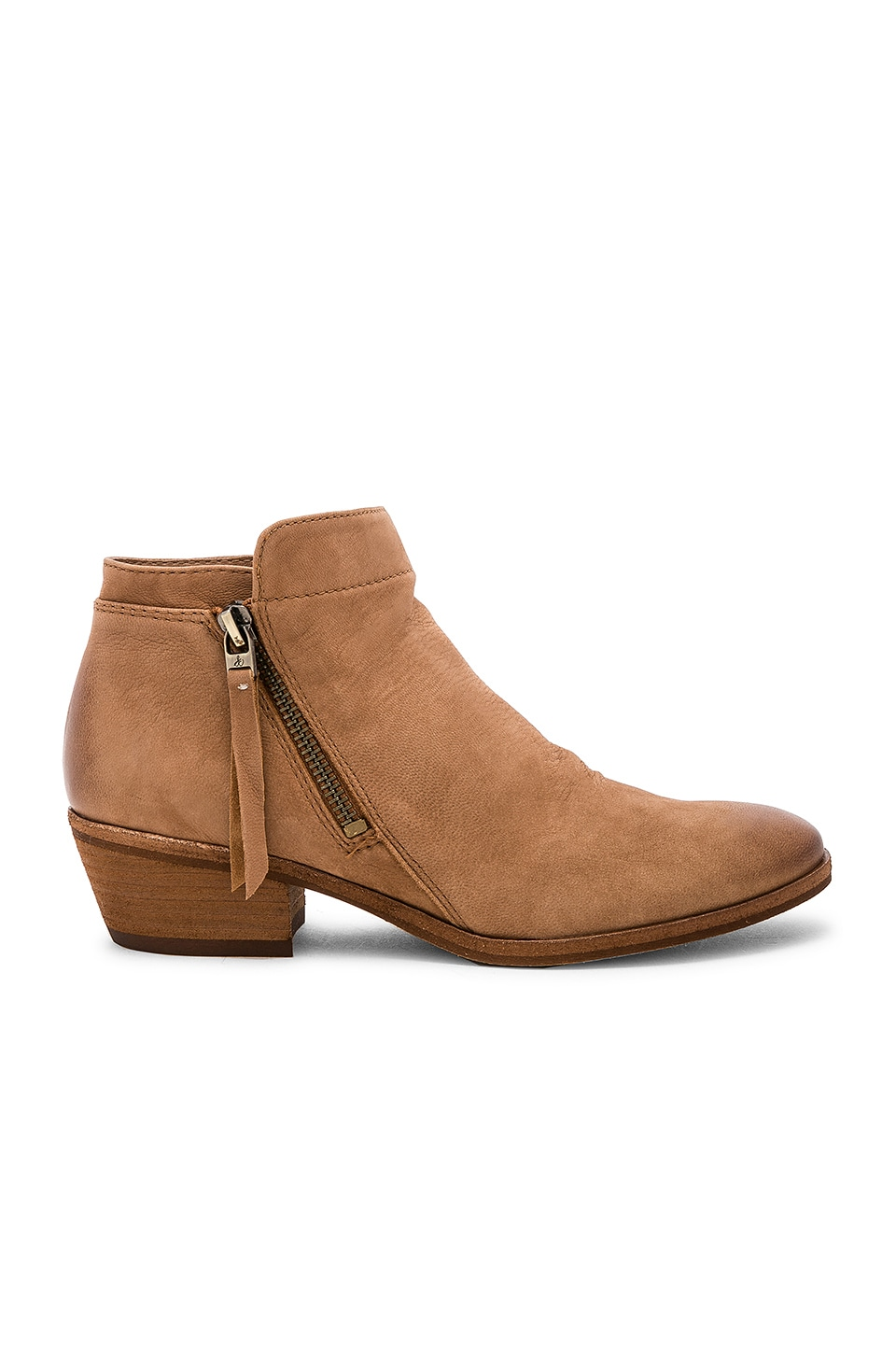 Sam Edelman Packer Bootie in Deep Saddle Leather