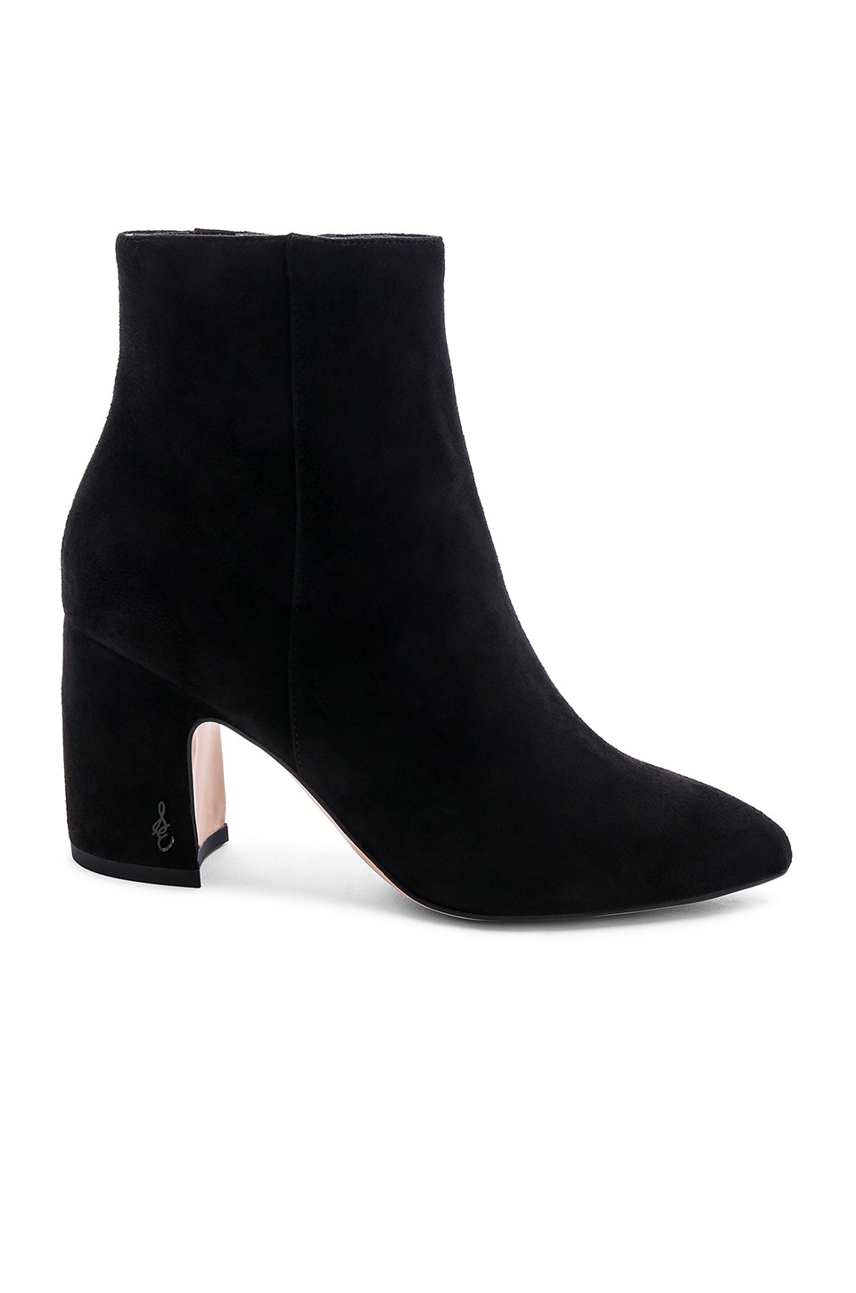 Sam Edelman Hilty Suede Bootie in Black