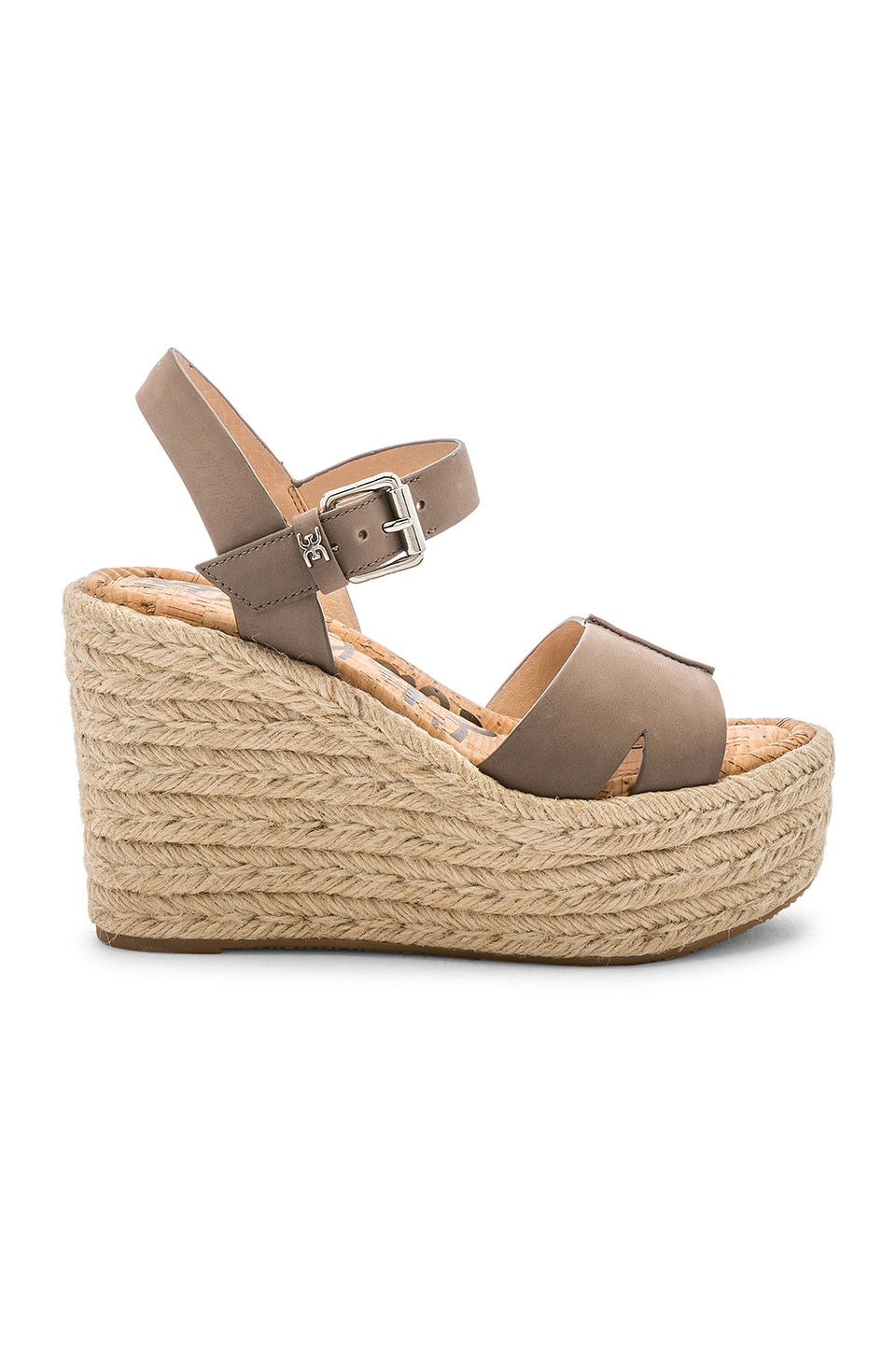 Sam Edelman Maura Wedge in Flint Grey