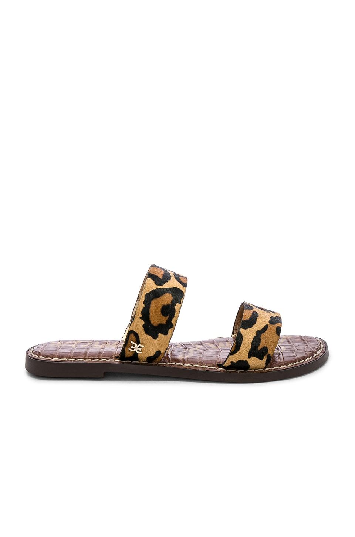 Sam Edelman Gala Sandal in New Nude Leopard