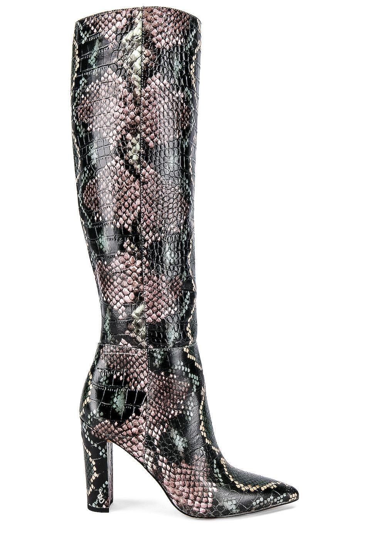Sam Edelman Raakel Boot in Wintergreen Multi Snake