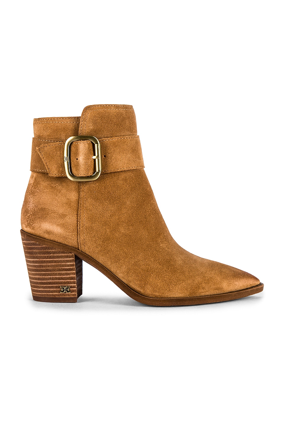 Sam Edelman Leonia Bootie in Golden Caramel