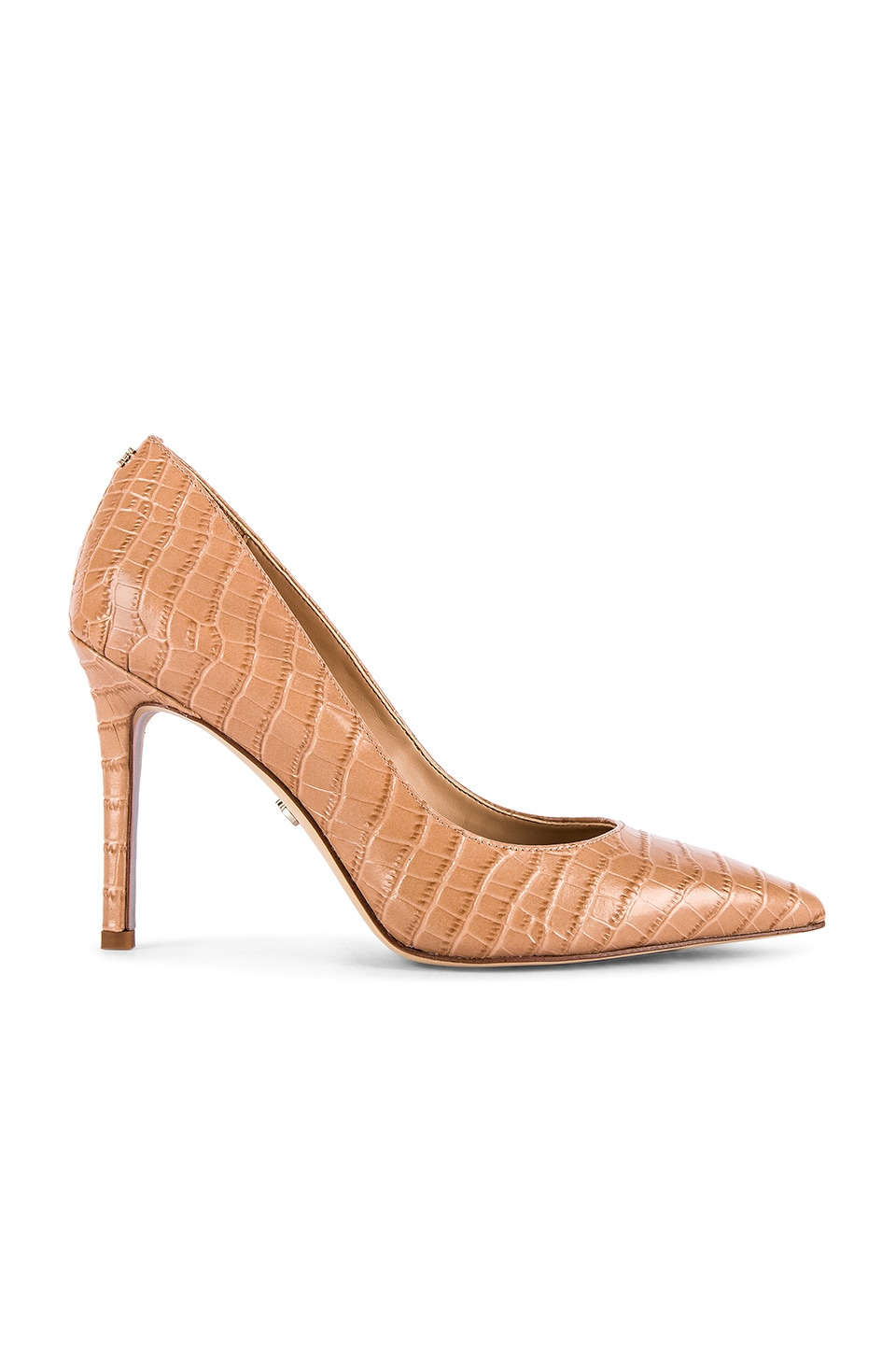 Sam Edelman Hazel Pump in Toasted Almond Croco