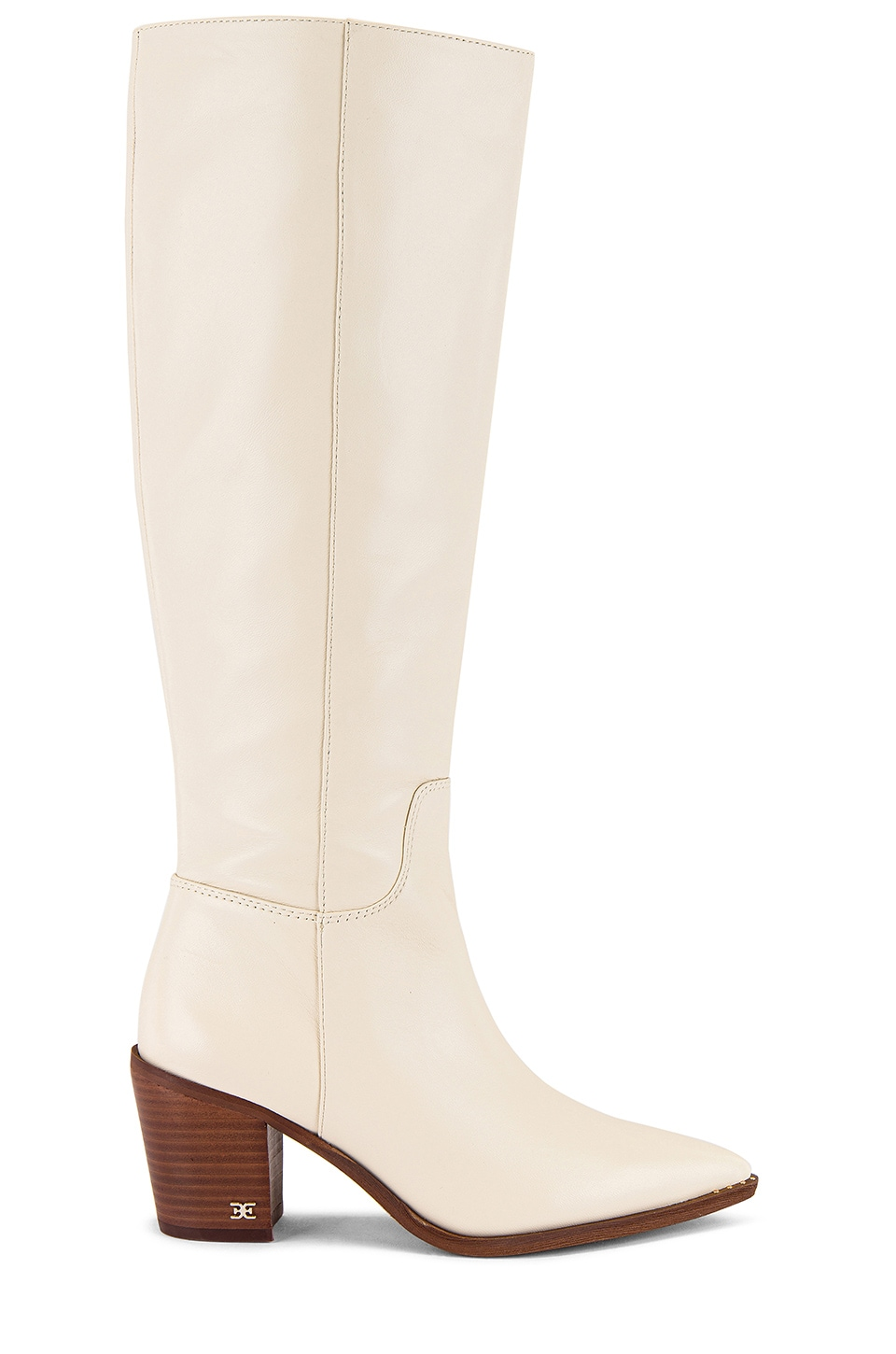 Sam Edelman Lindsey Boot in Modern Ivory Leather