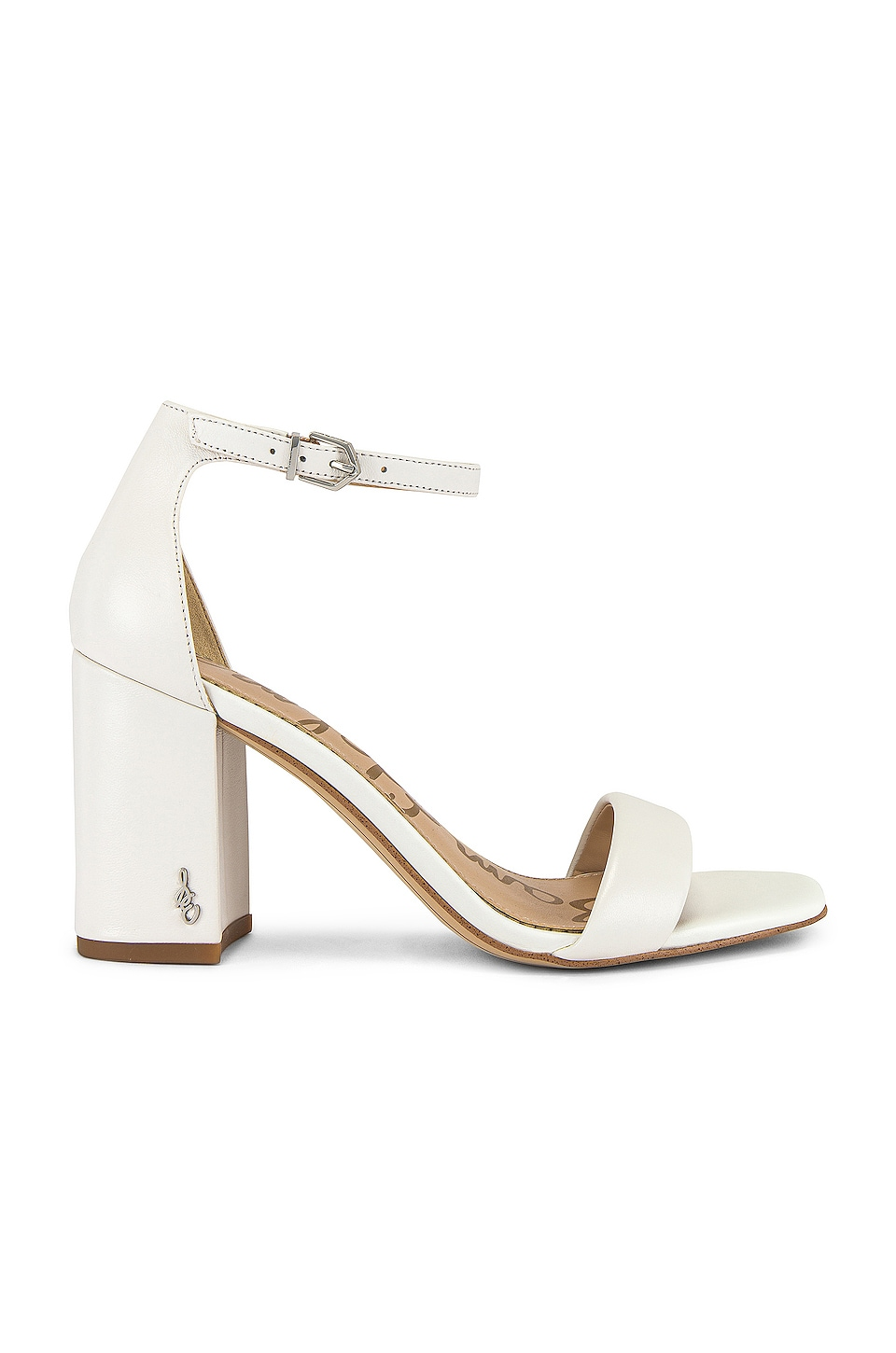 Sam Edelman Daniella Sandal in Bright White
