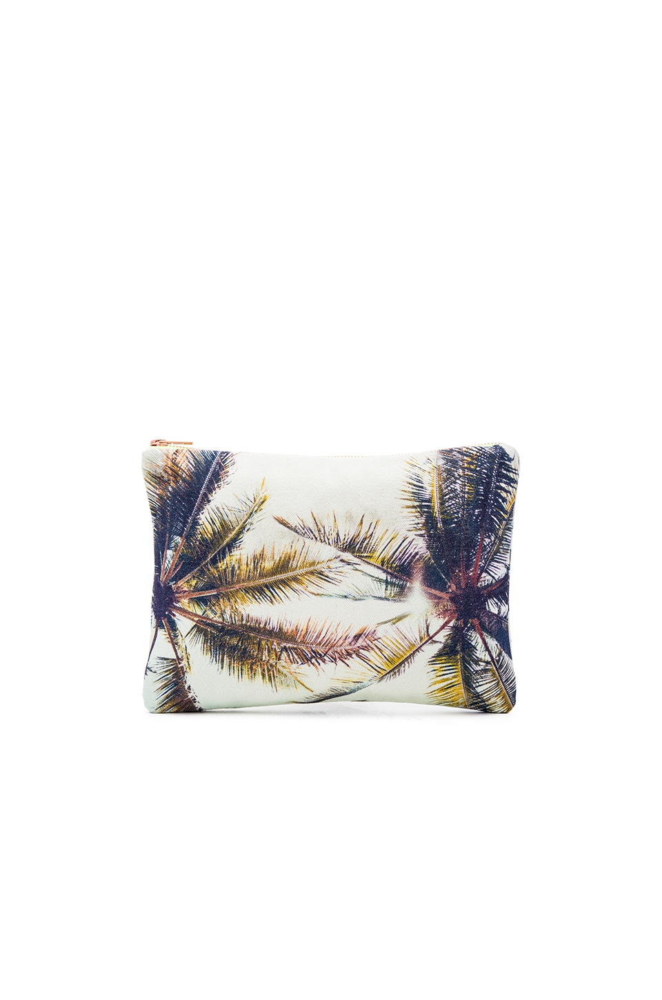Samudra Twin Palms Flat Pouch in Multi