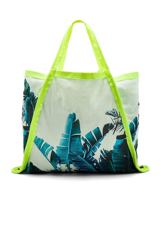 Samudra Asymmetrical Tote Bag in Byron Birds