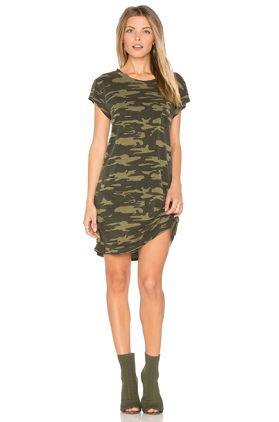 Sanctuary Camo T-shirt Dress in Heritage Camo