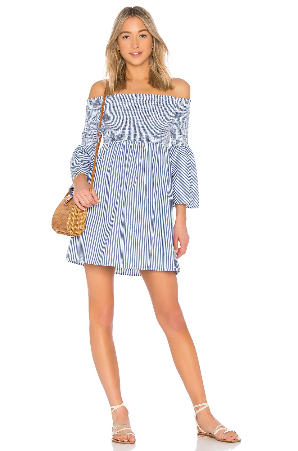 Sanctuary Bitter Sweet Poplin Dress in Boy Stripe