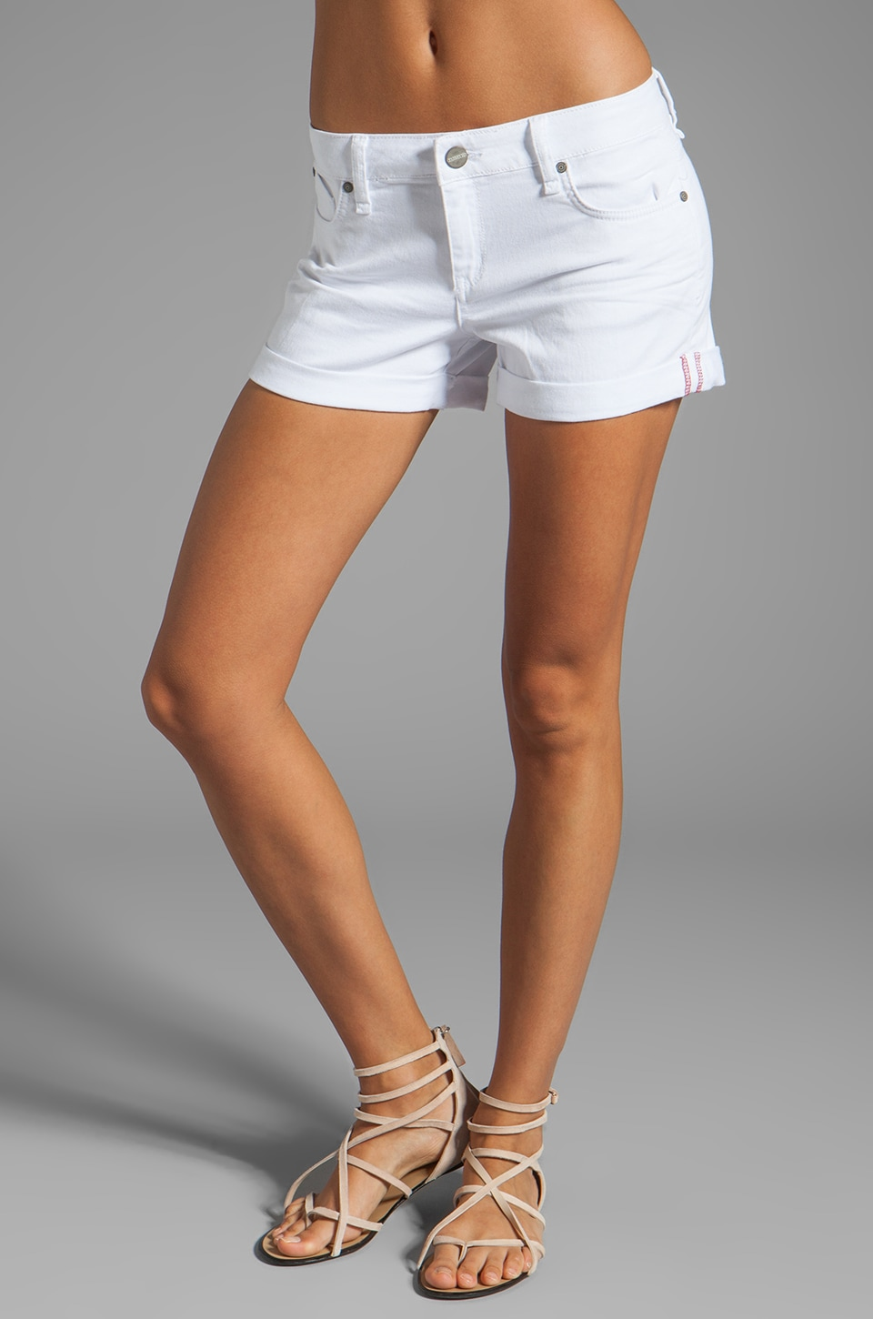 Sanctuary Perfect Fit Short in White