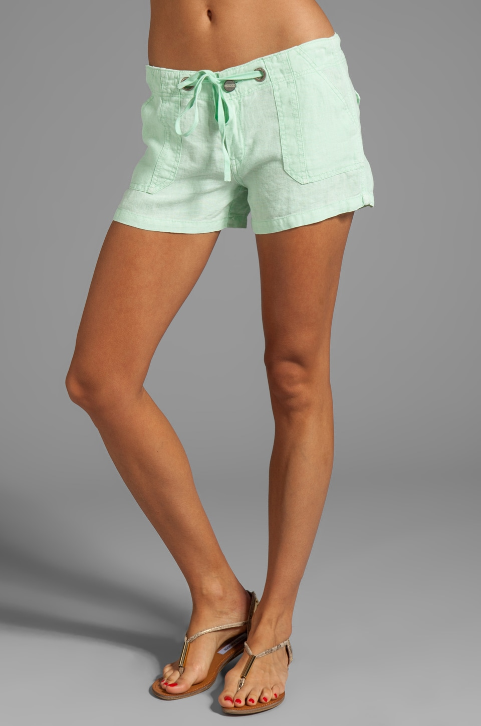 Sanctuary Soft Bottoms Trek Short in Mint