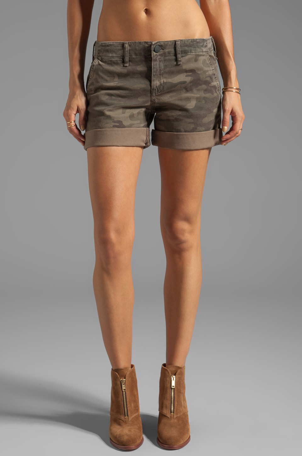 Sanctuary Modern Nomad Liberty Roll Short in Safari