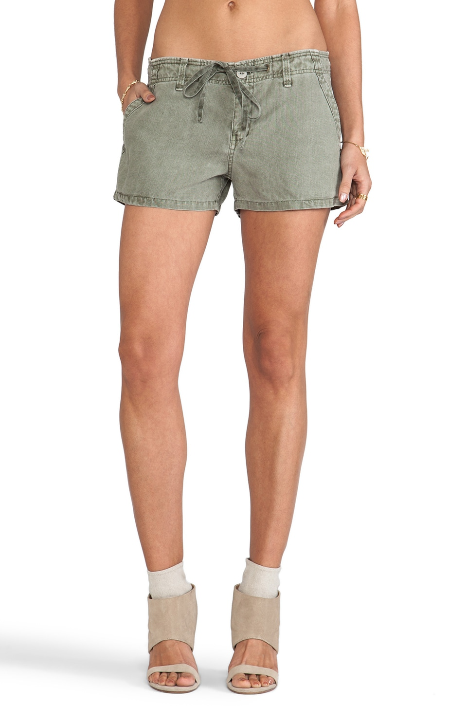 Sanctuary Surf Shorts in Cactus Green