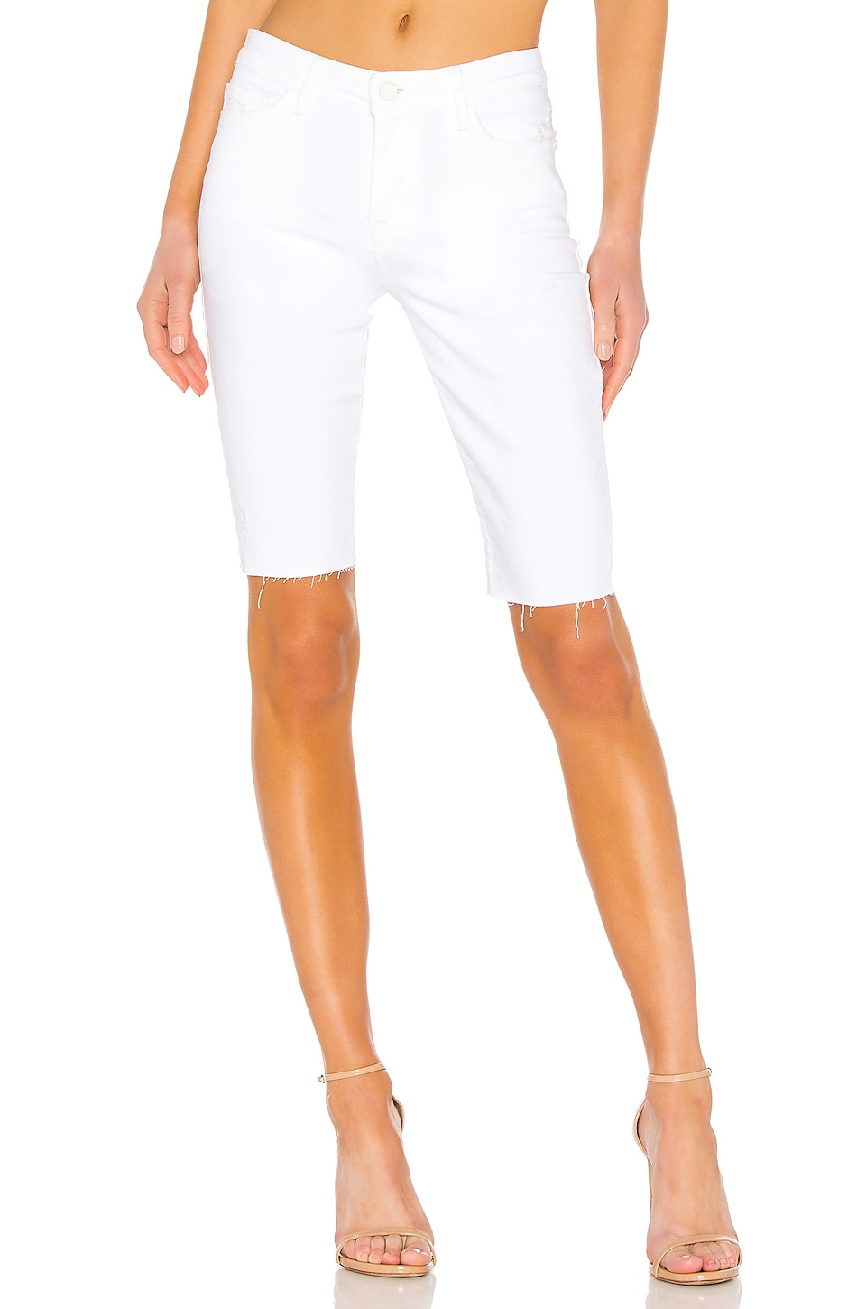 Sanctuary Endless Summer Bermuda Short in Malibu White