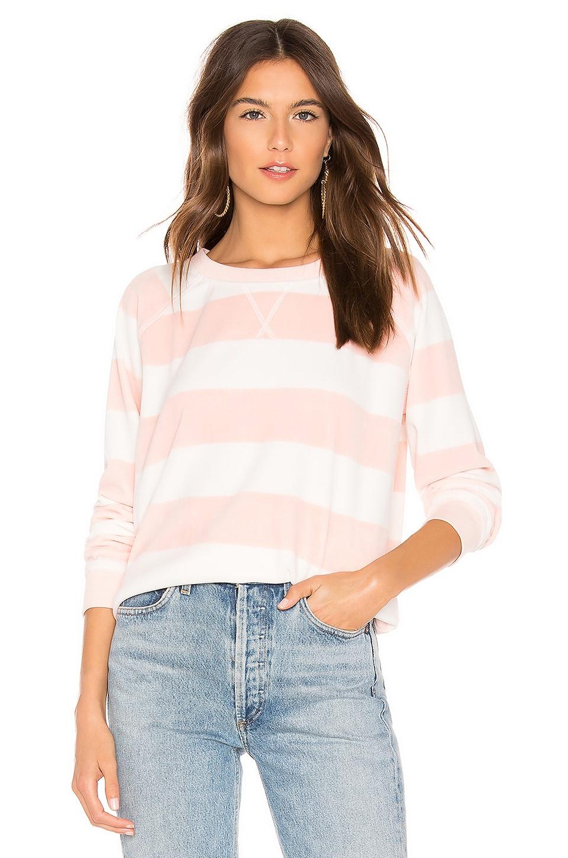 Sanctuary La Brea Stripe Pullover in Pink Fizz & New Moon