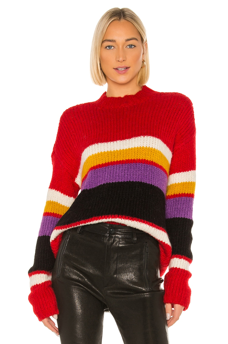 Sanctuary Party Stripe Sweater in Party Stripe