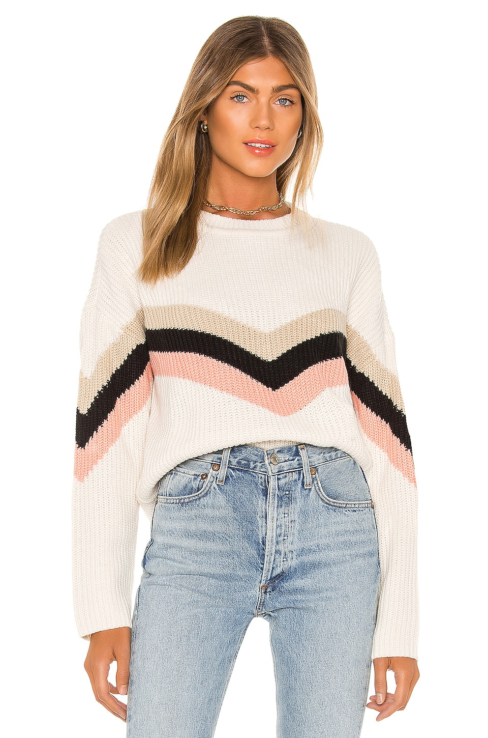 Sanctuary Apres Ski Sweater in Multi