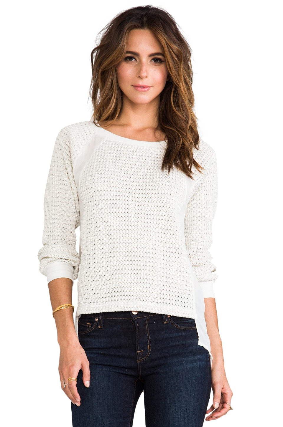 Sanctuary Mix & Match Sweater in Ivory