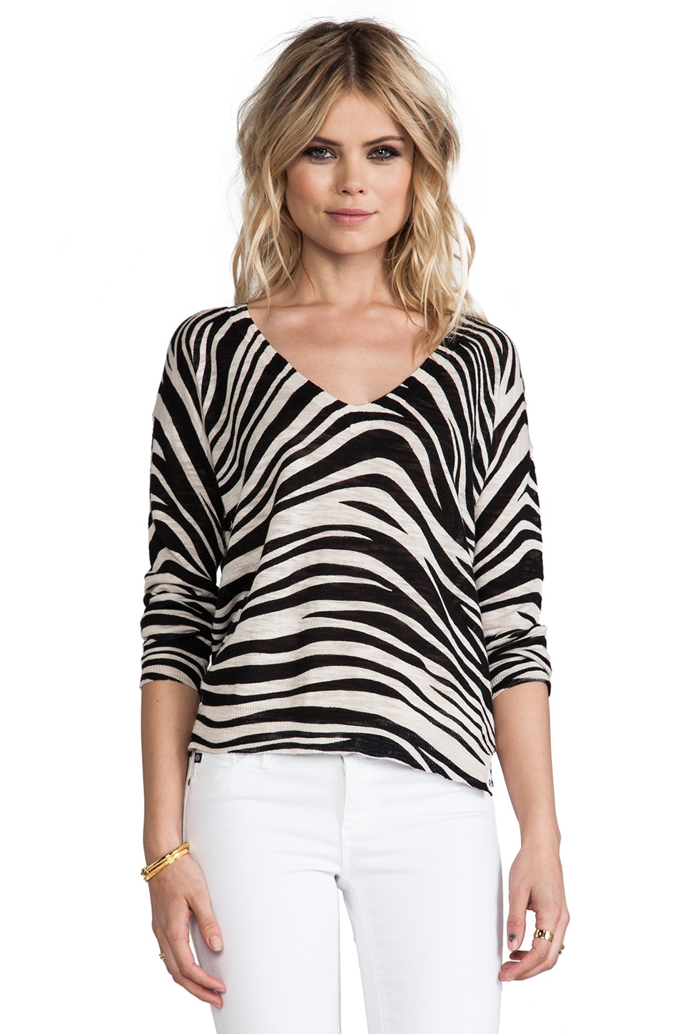 Sanctuary Tigress Sweater in Black Multi