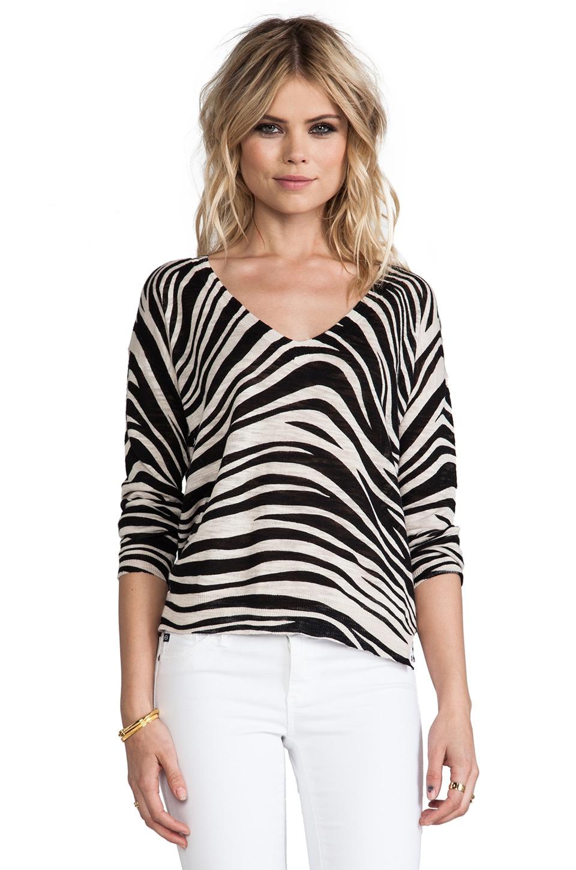 Sanctuary Tigress Sweater in Black Multi