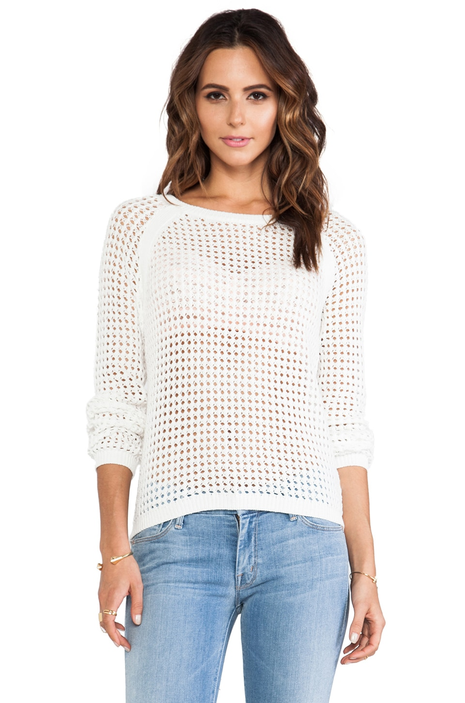 Sanctuary Shore Sweater in White