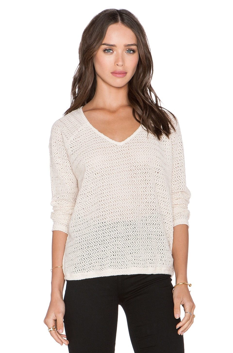 Sanctuary Beach Sweater in Wicker