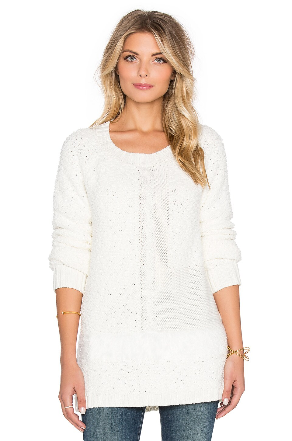 Sanctuary New Snuggle Sweater in Winter White | REVOLVE