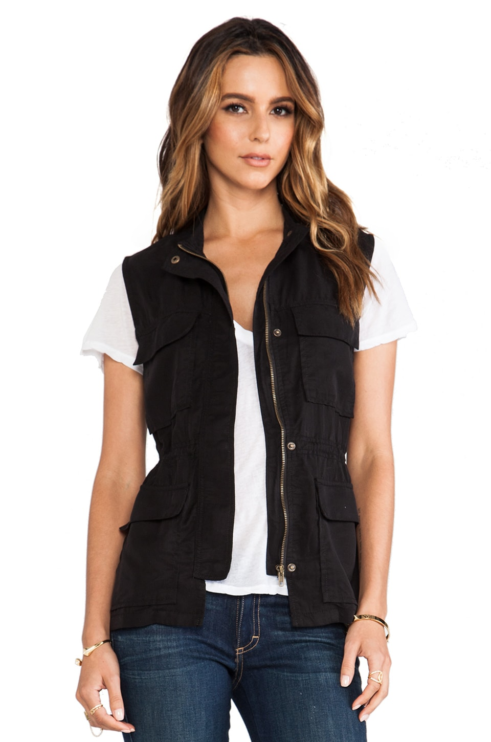 Sanctuary Travel Vest in Black