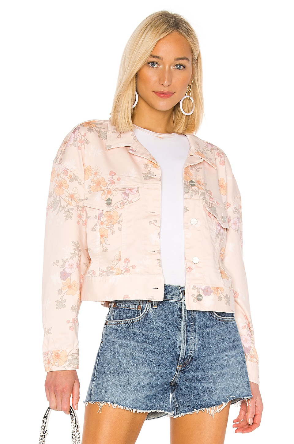 Sanctuary Retro Jacket in Washed Garden Girl