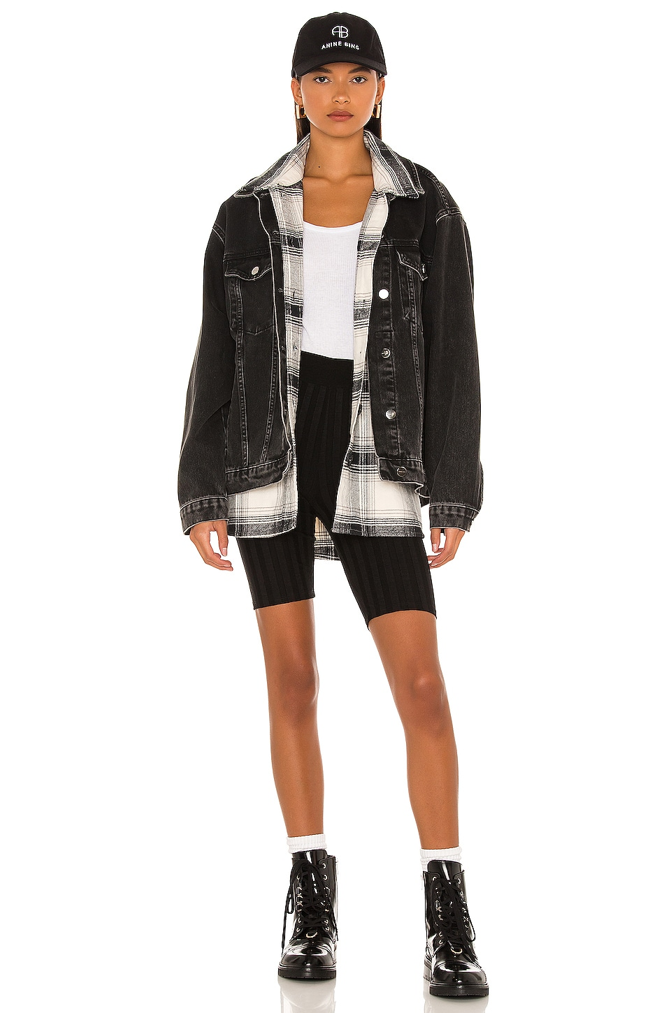 Sanctuary The Shacket in Moonstone Plaid