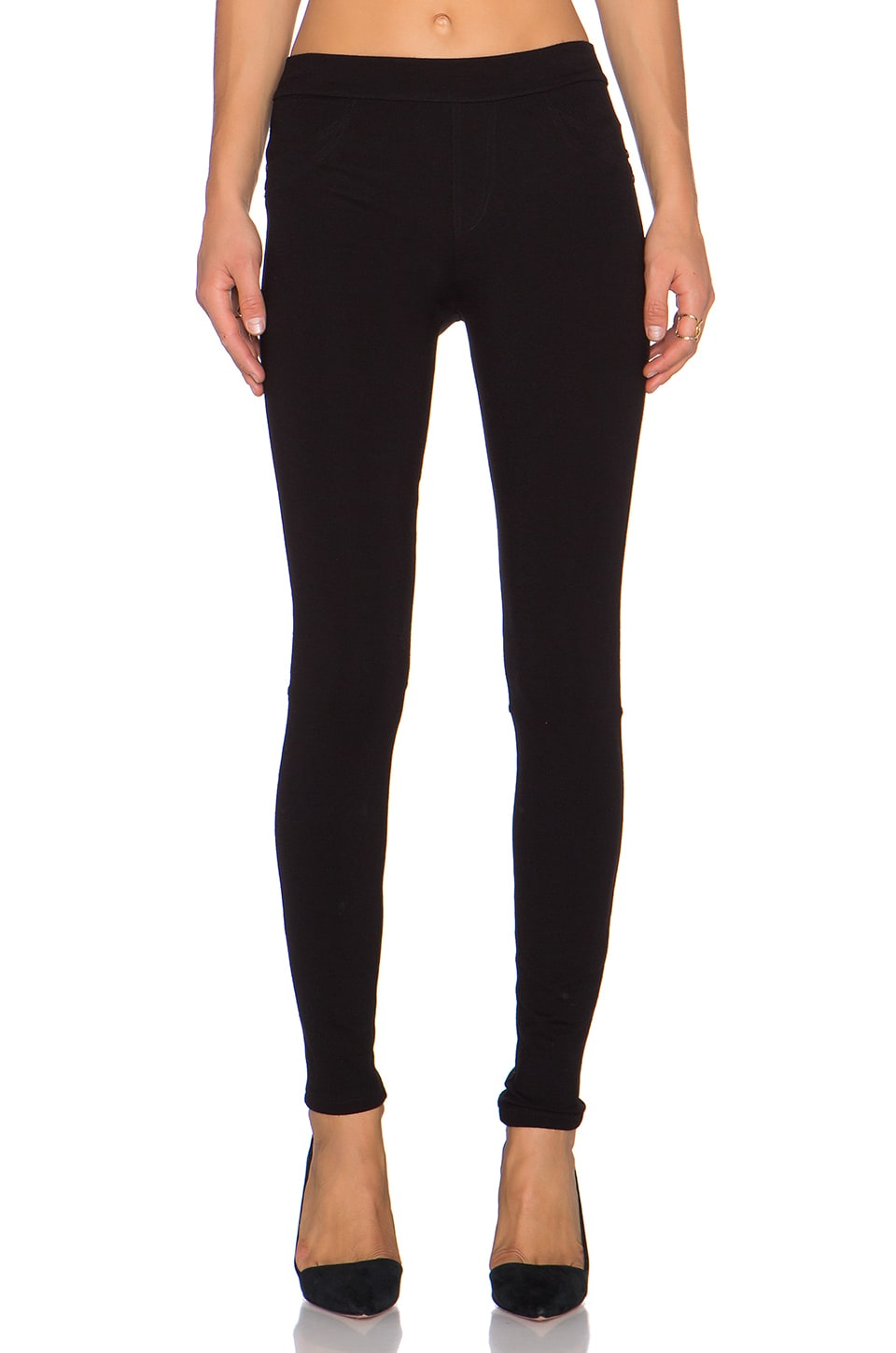 Sanctuary Grease Ponte Legging in Black