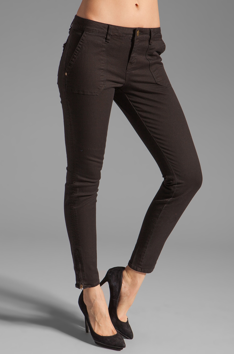 Sanctuary Craftsman Skinny in Black
