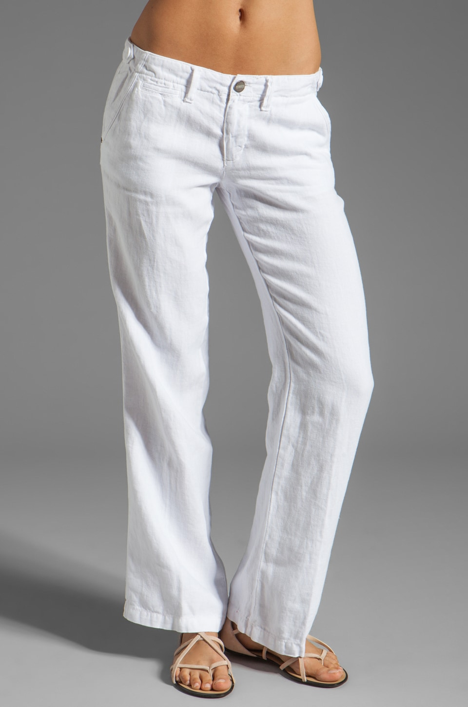 Sanctuary Easy Wayfer Trouser in White