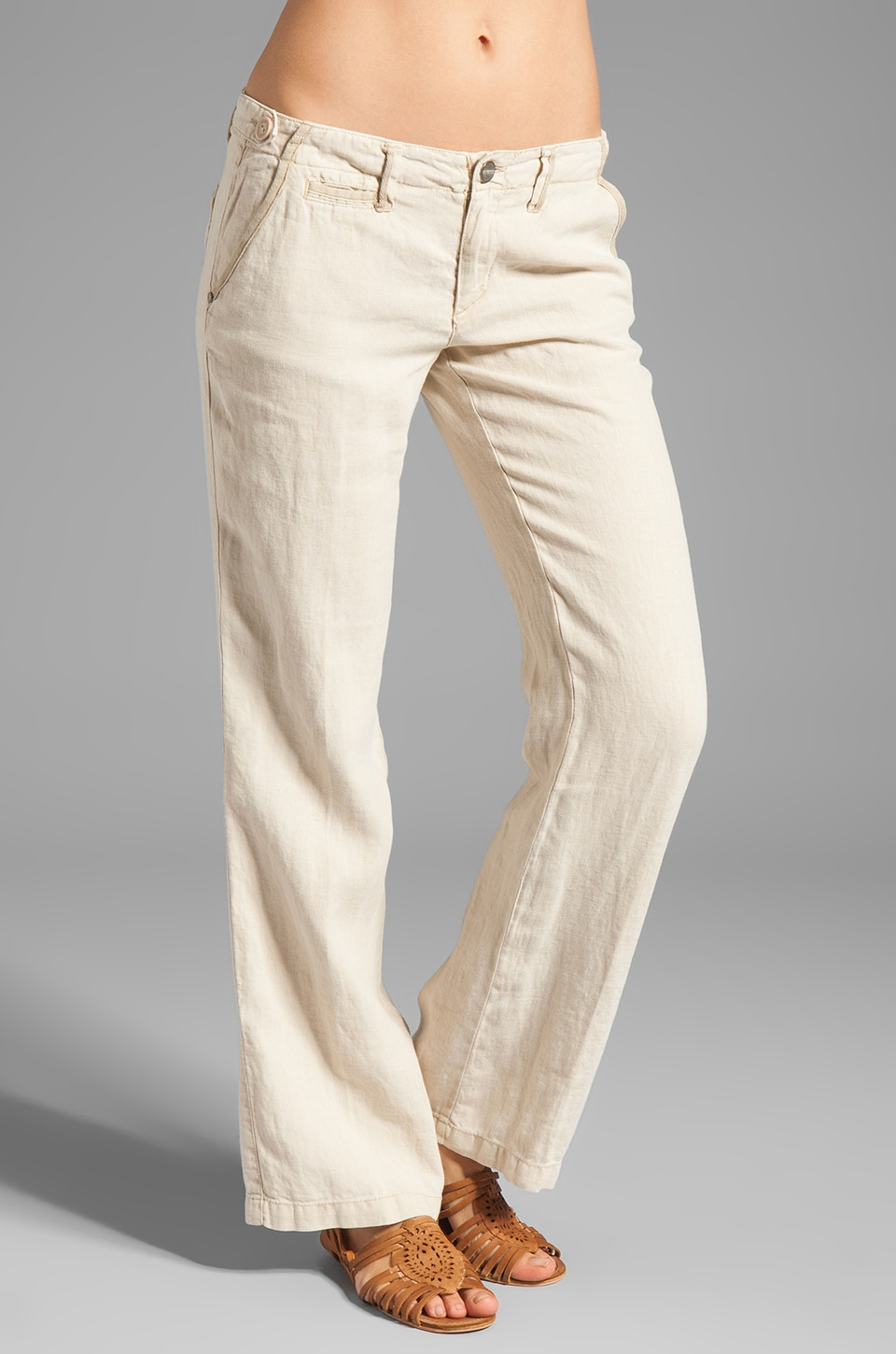Sanctuary Sunday Wayfarer Trouser in Sand