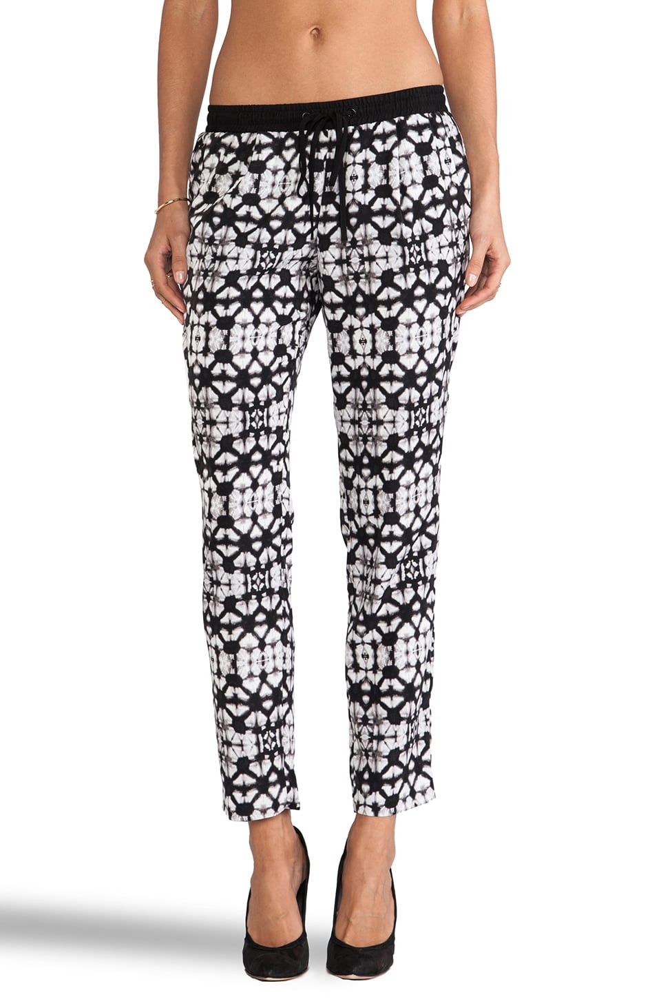 Sanctuary Travel Jogger Pant in Kaleidoscope Batik