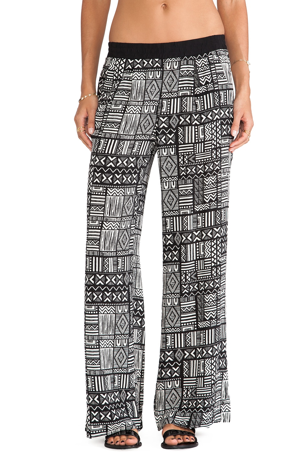 Sanctuary Palazzo Pants in Tribal
