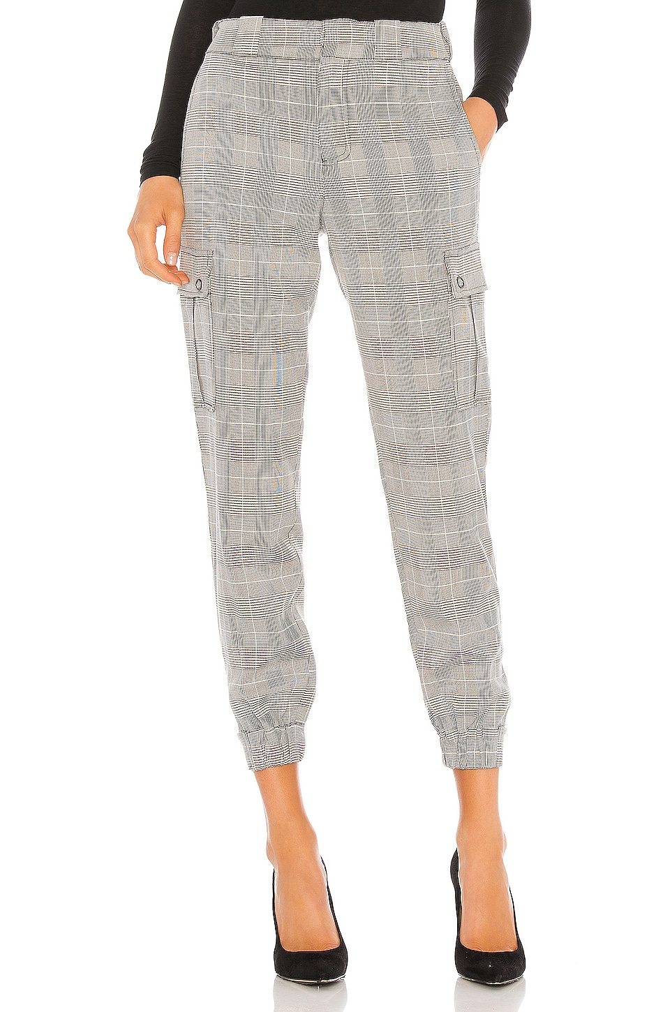 Sanctuary The Commander Jogger en Wallace Plaid