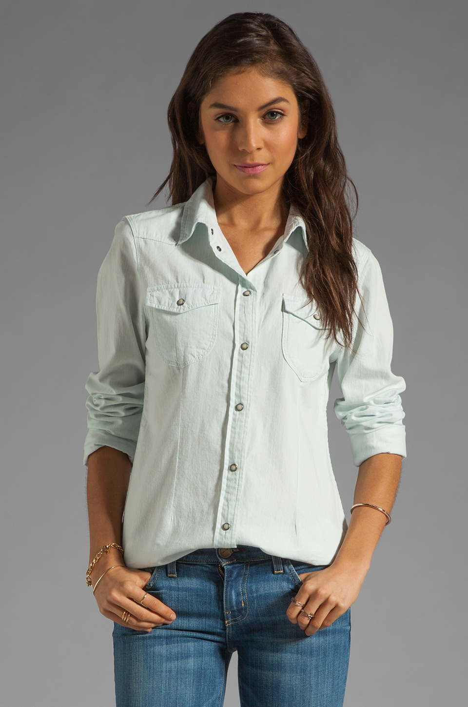 Sanctuary Southern Rock Top in White Out