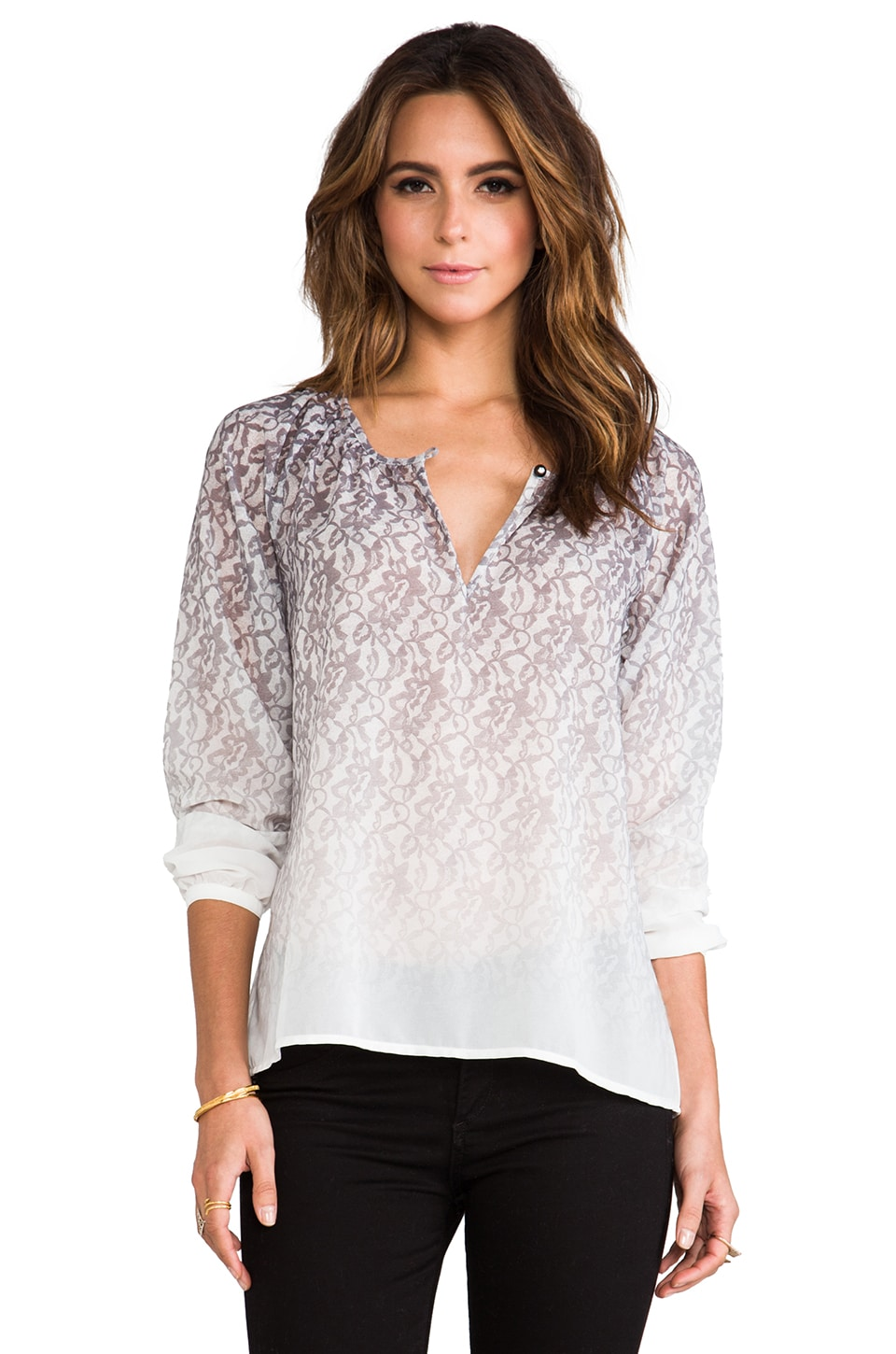 Sanctuary Gypsy Ombre Top in Lace