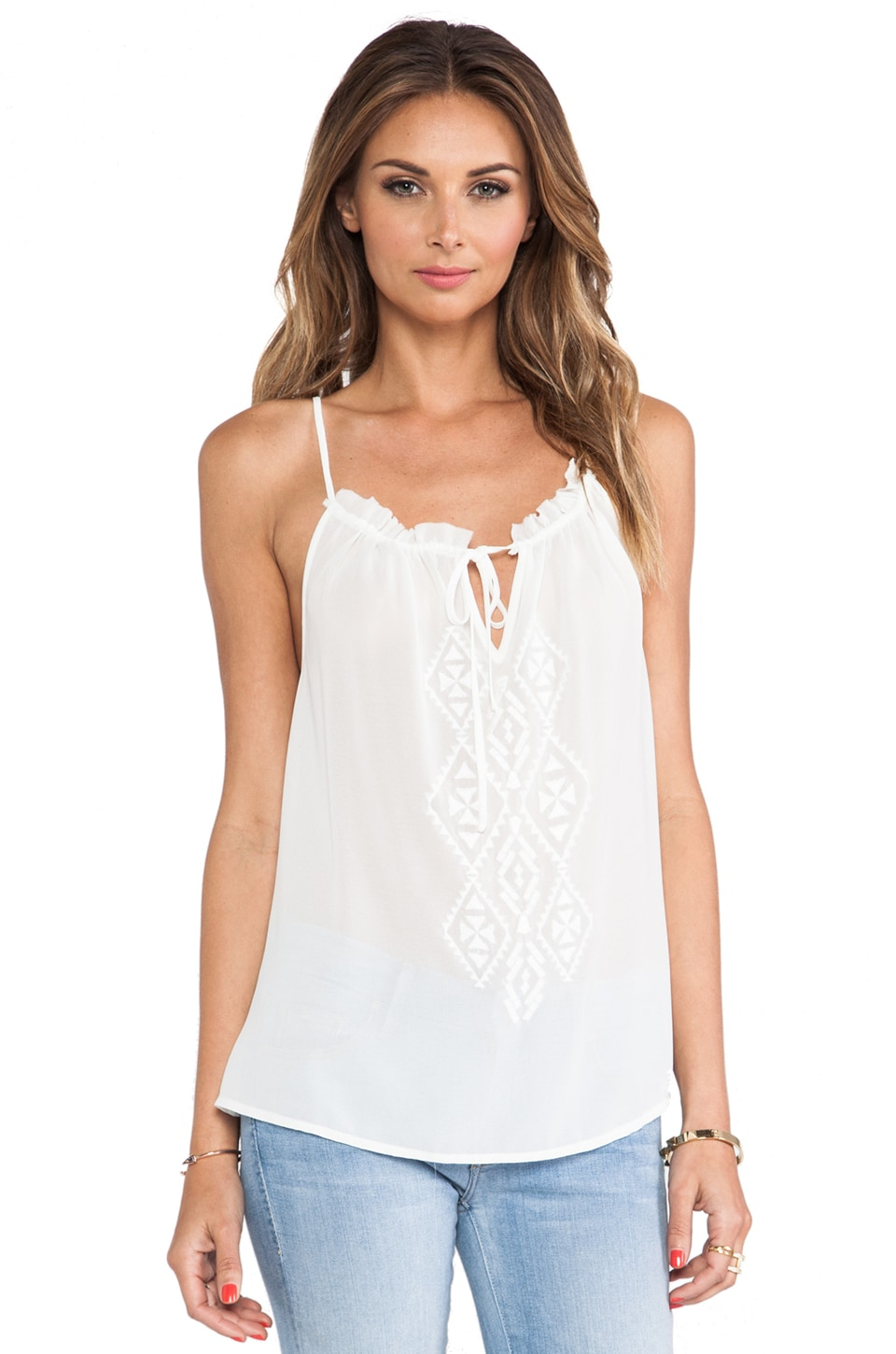 Sanctuary Collector Tank in White