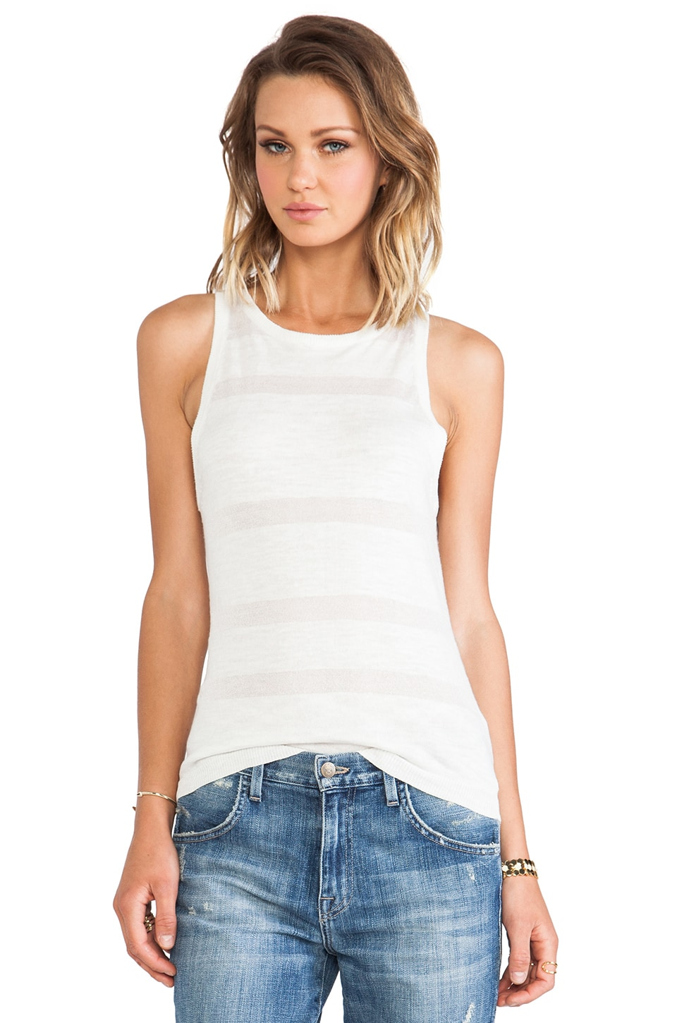 Sanctuary Illusion Tank in White