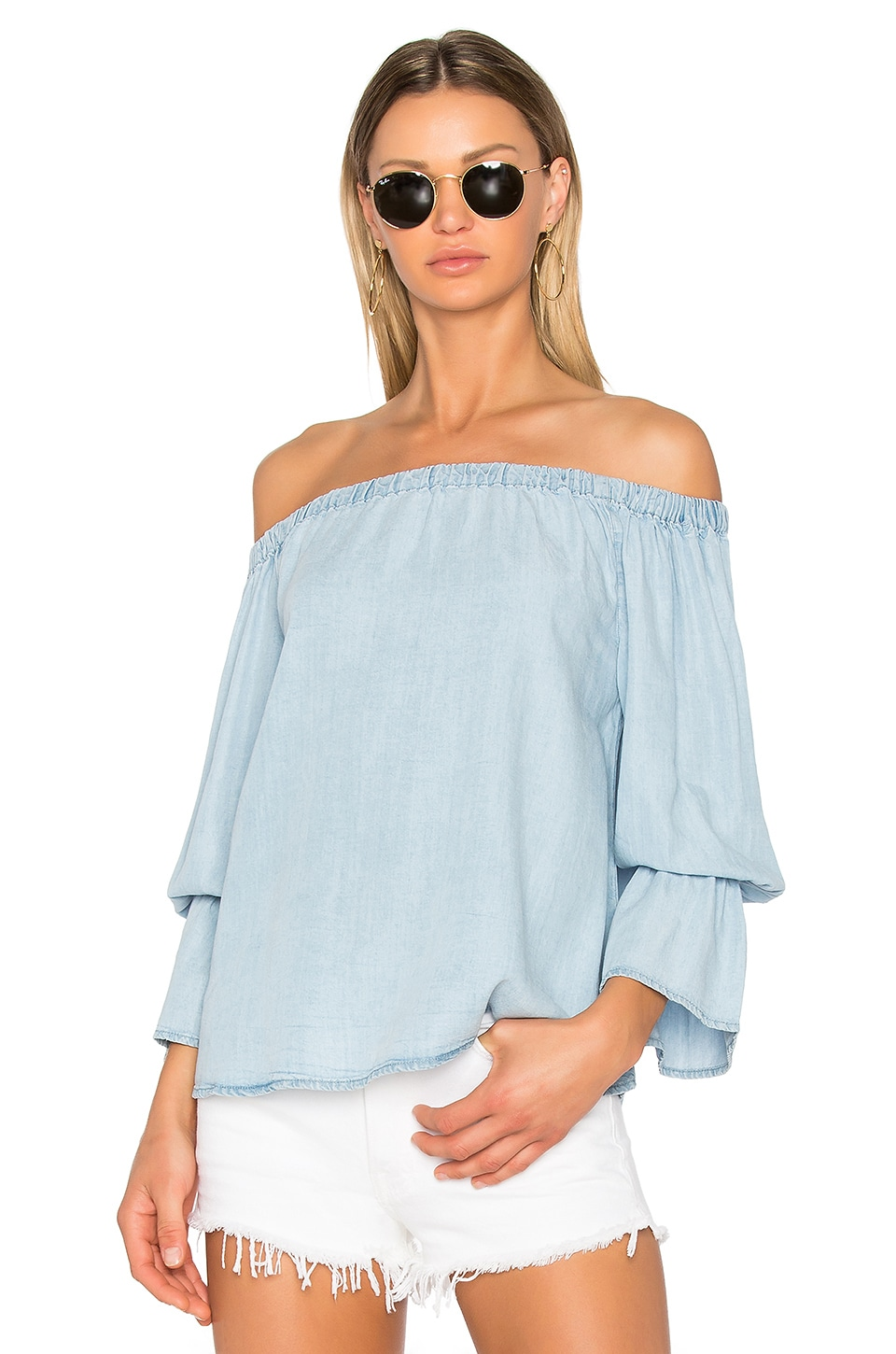 Sanctuary Charlotte Top in Sun Bleached